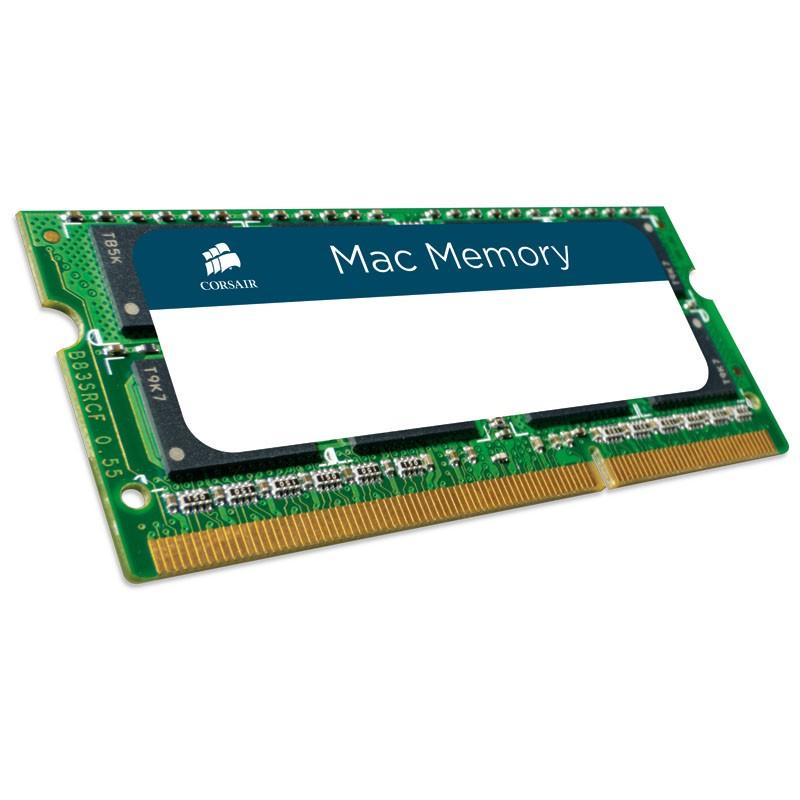 Memoria Corsair MAC SODIMM 4GB DDR3 1066MHz C7