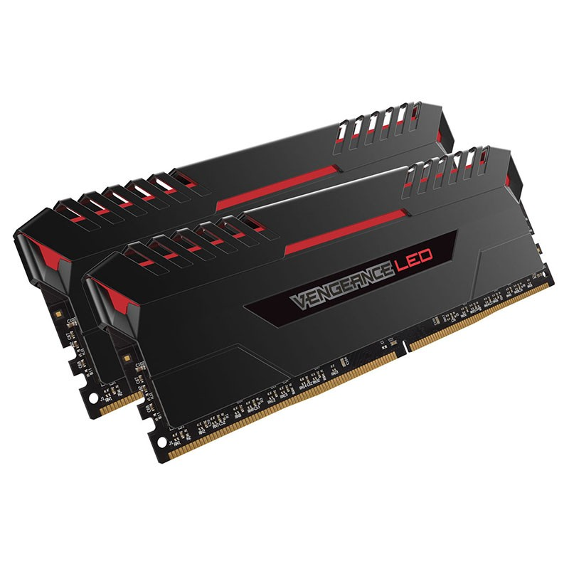 kit-memoria-corsair-vengeance-led-32gb-ddr4-3200mhz-2x16gb-rojo