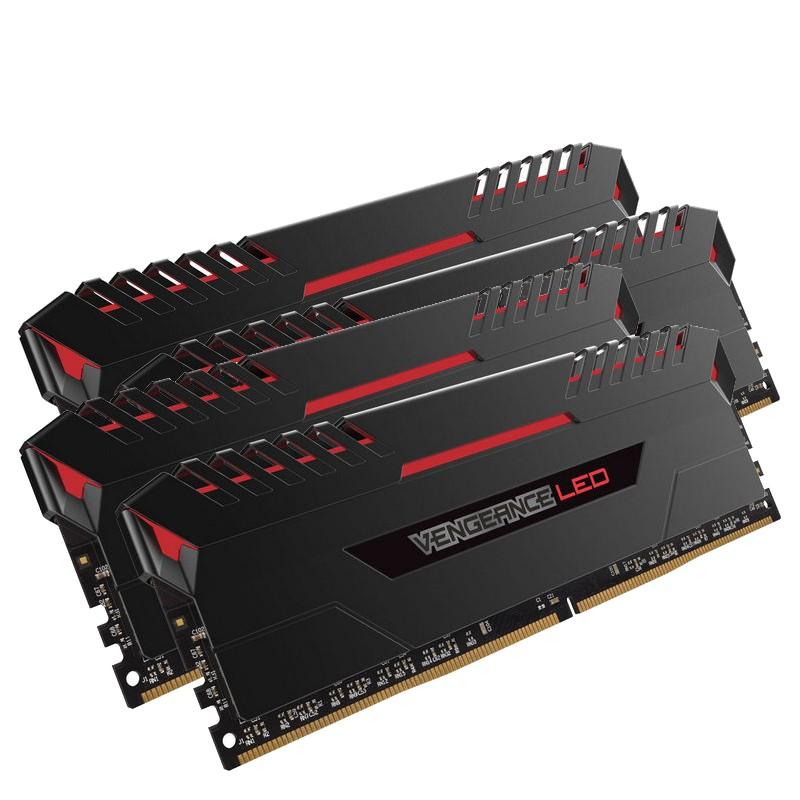 kit-memoria-corsair-vengeance-led-32gb-ddr4-2666mhz-4x8gb-