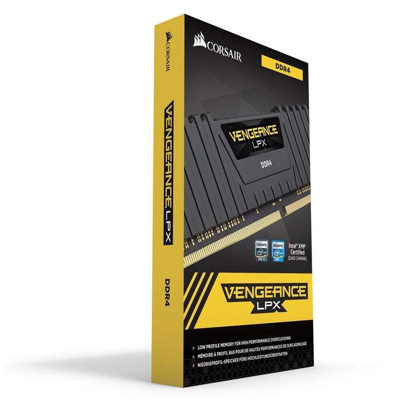 Memoria Corsair Vengeance LPX 8GB DDR4 2400MHz C14 Negro