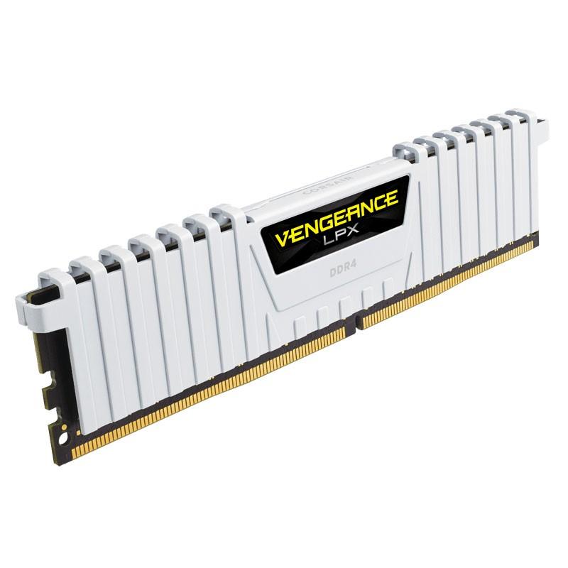 Kit Memoria Corsair Vengeance LPX 16GB DDR4 3200MHz (2x8GB) Blanco