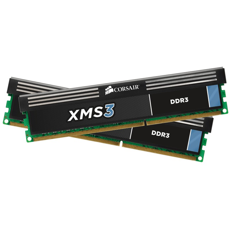 Kit Memoria Corsair XMS3 8GB DDR3 1333MHz C9 (2x4GB)