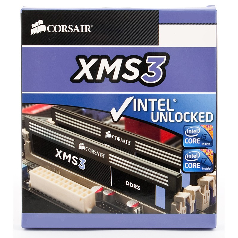Kit Memoria Corsair XMS3 4GB DDR3 1600MHz (2x2GB)