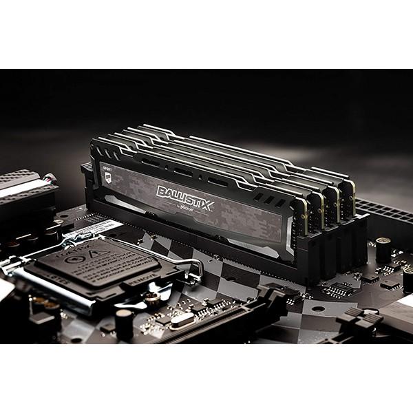 Memoria Crucial Ballistix Sport LT 16GB DDR4 2666MHz Gris