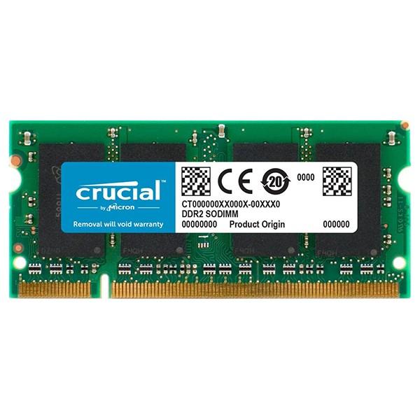 Memoria Crucial CT25664AC800 2GB SODIMM DDR2 800Mhz CL6