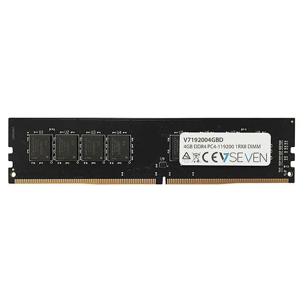 Memoria V7 V7192004GBD 4GB DDR4 2400MHZ CL15 (PC4-19200)