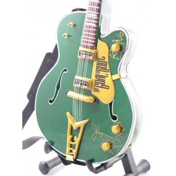 Mini Guitarra De Colección Estilo U2 - Bono - Irish Falcon