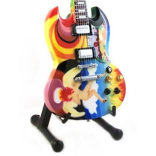 Mini Guitarra De Colección Estilo Eric Clapton - Fool SG