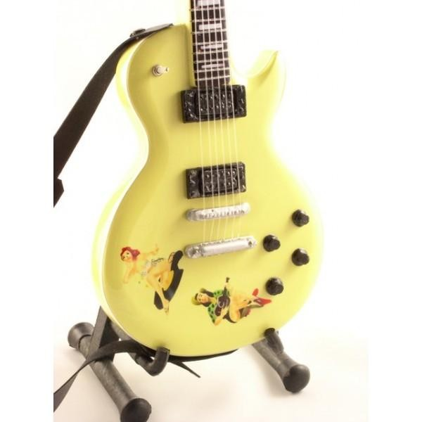 Mini Guitarra De Colección Estilo Sex Pistols - Steve Jones