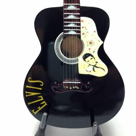 Mini Guitarra De Colección Tributo Elvis