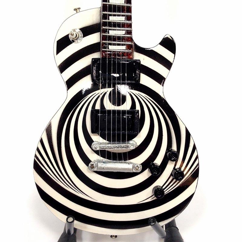 Mini Guitarra De Colección Estilo Black Label Society - Zakk Wylde - Vertigo