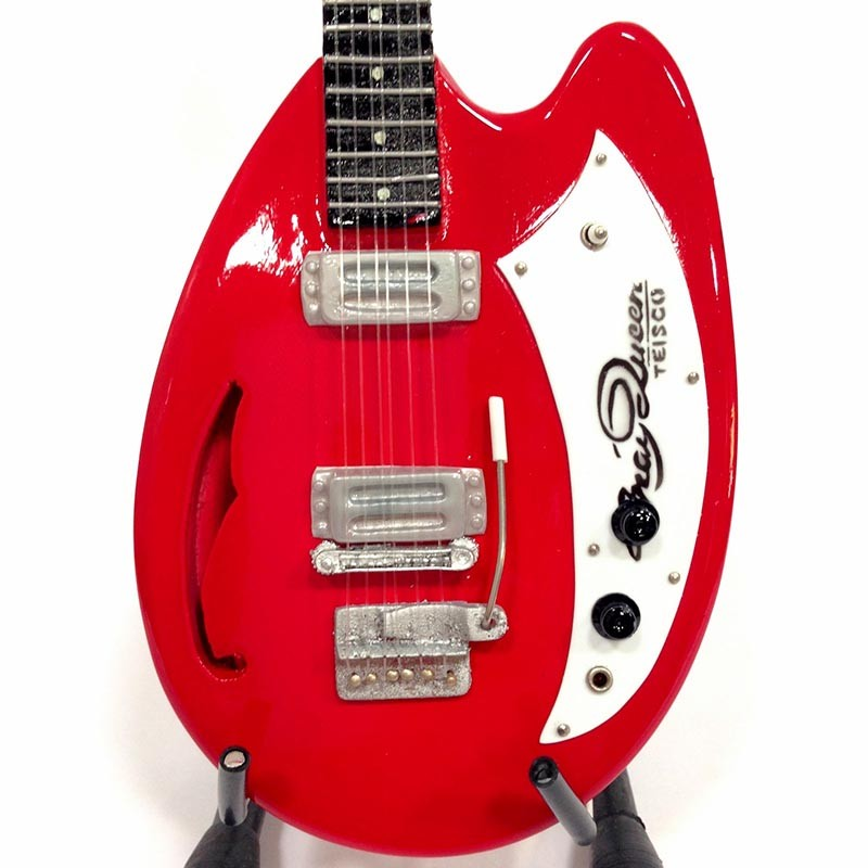 Mini Guitarra De Colección Estilo Queen - Brian May Teisco