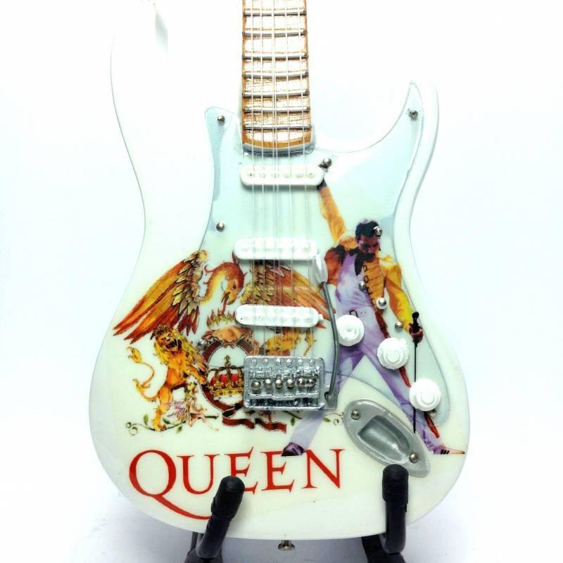 Mini guitarra de colección tributo queen