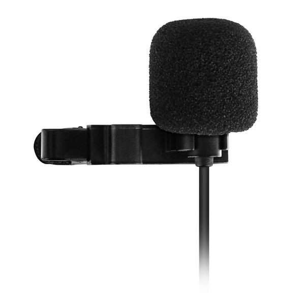 Micrófono de Solapa Sharkoon SM1 Alámbrico Negro