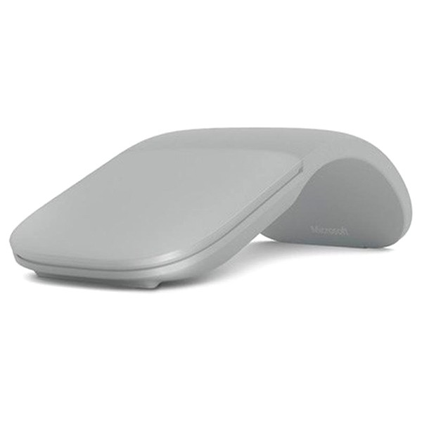 Ratón Bluetooth Microsoft Arc Mouse Gris