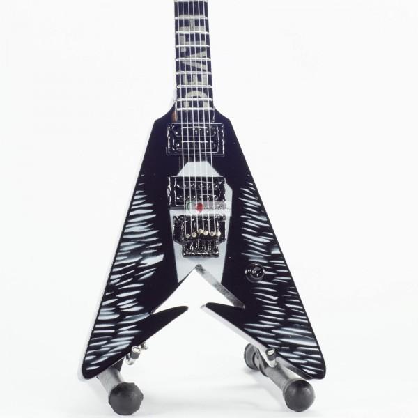 Mini Guitarra De Colección Estilo Metallica - Kirk Hammett - Death Magnetic