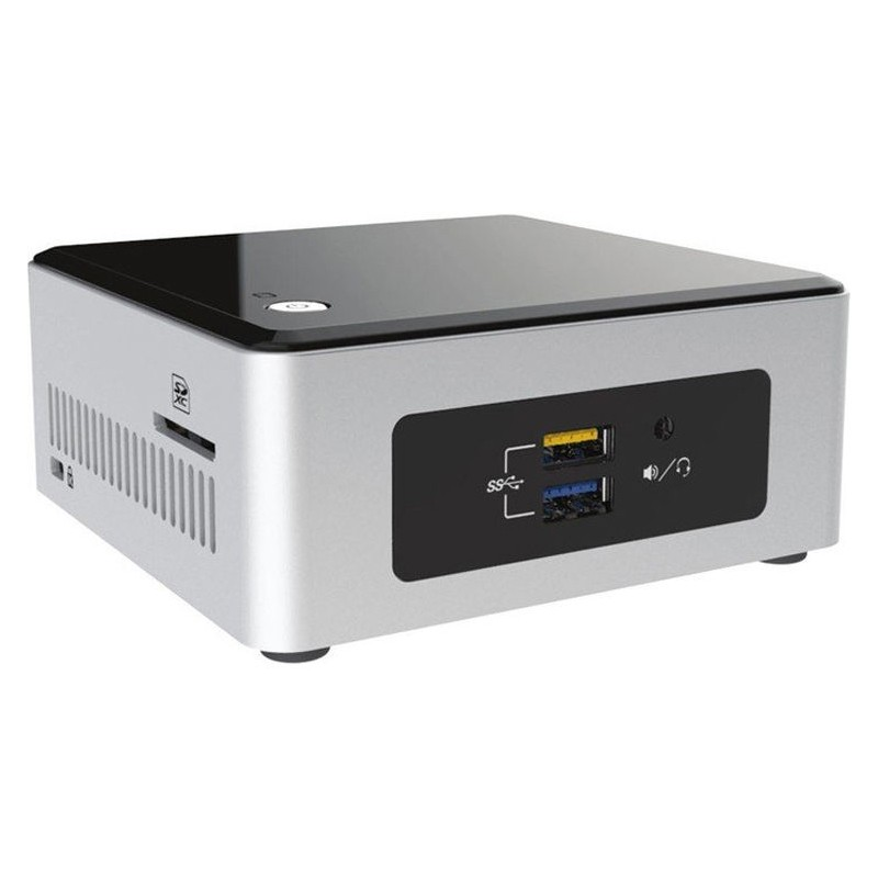 Mini PC Barebone Intel Nuc NUC5PPYH HTPC Negro