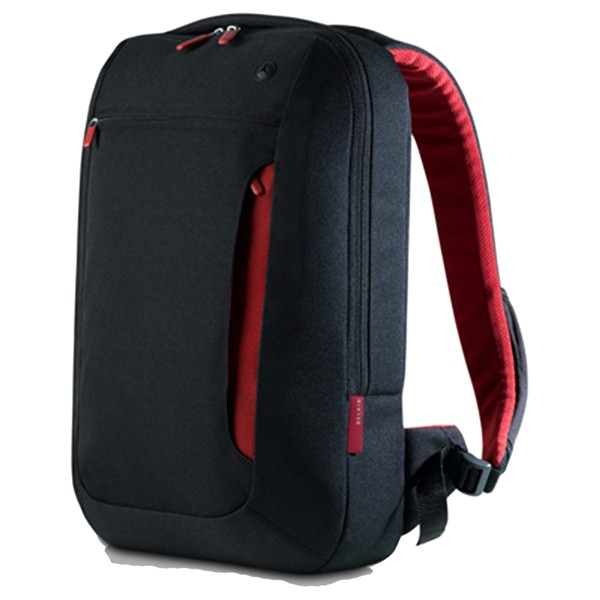 Mochila para portátil de 17` belkin slim back pack