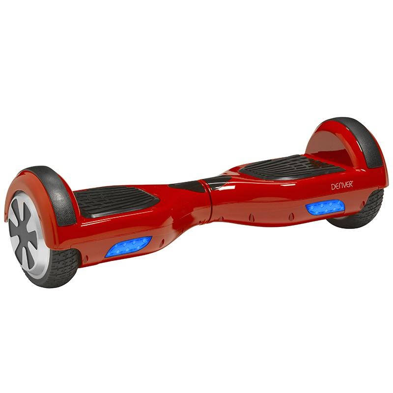 Monopatín Eléctrico Hoverboard Denver DBO-6500 Rojo