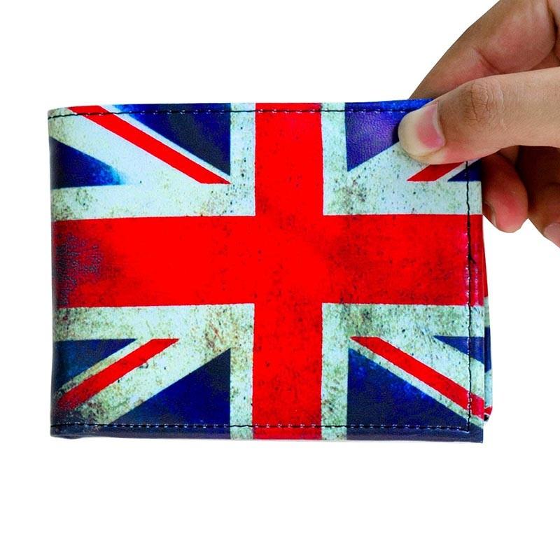 Cartera de Piel Sintética UK Old Flag