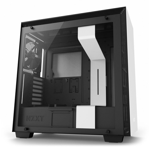 Caja PC E-ATX NZXT H700 Smart Blanco/Negro