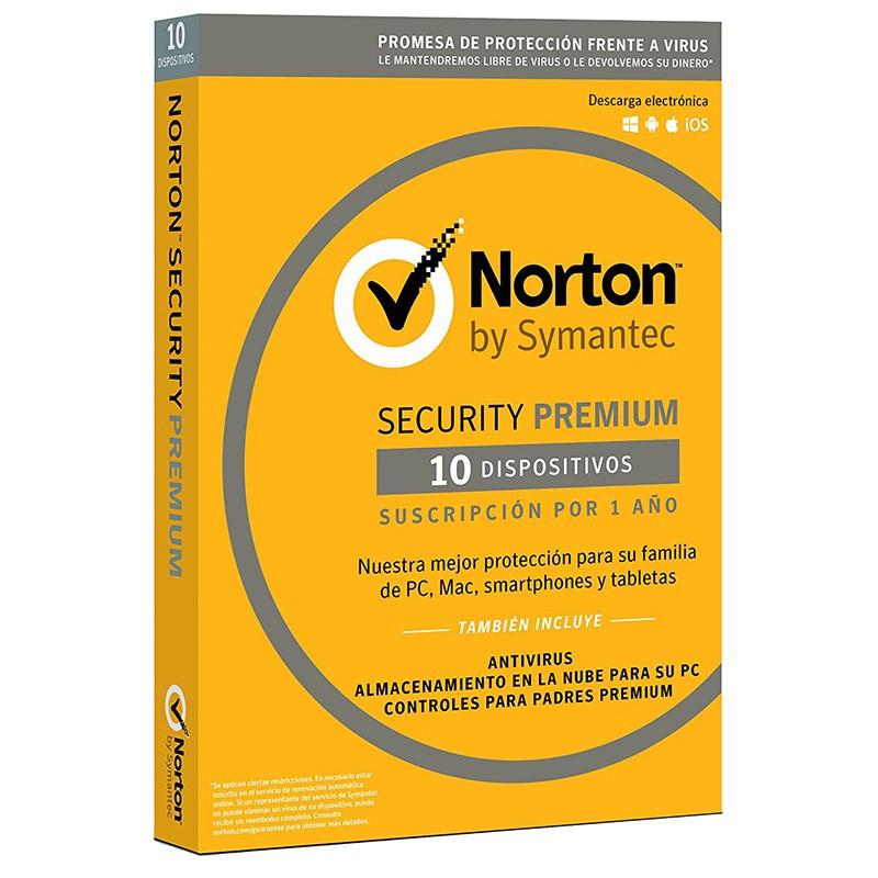 Norton Security Premium 2018 10 Dispositivos