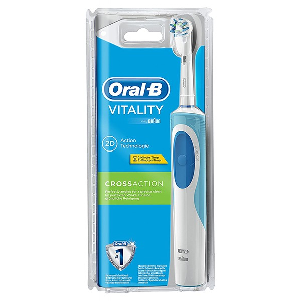 Cepillo de Dientes Eléctrico Oral-B Vitality CrossAction D12513