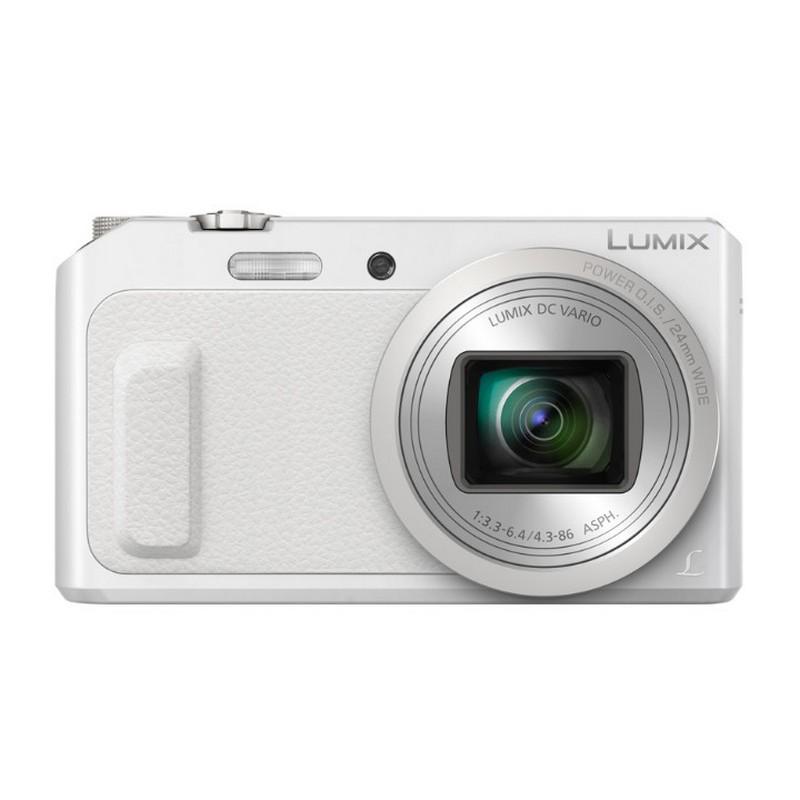 Cámara Panasonic Lumix DMC-TZ57 16Mpx Zoom 20X WiFi Blanca