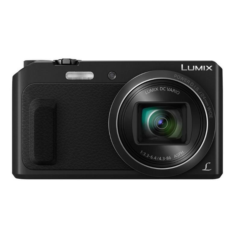 Cámara Panasonic Lumix DMC-TZ57 16Mpx Zoom 20X WiFi Negra