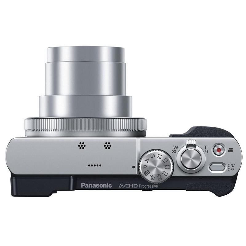 Cámara Panasonic Lumix DMC-TZ70 12.1Mpx Zoom 30X HD Plata