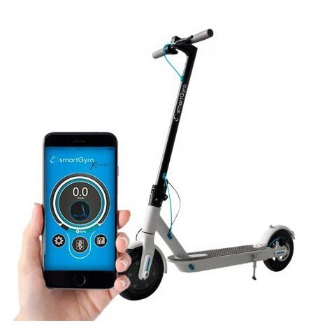 Scooter Eléctrico SmartGyro Extreme Blanco