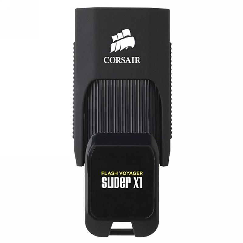 Pendrive 128GB Corsair Voyager Slider X1 USB3.0 Negro