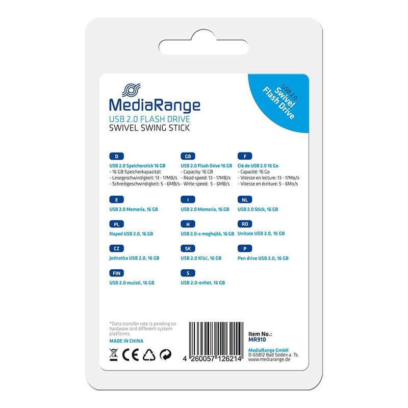 Pendrive 16GB MediaRange Flexi-Drive