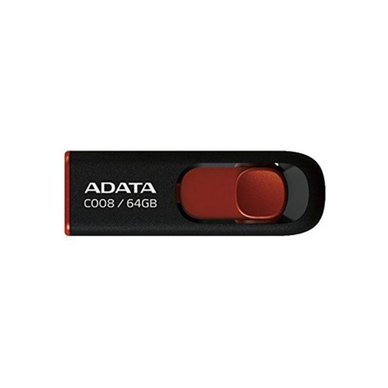 pendrive-64gb-adata-classic-series-c008-negro-rojo