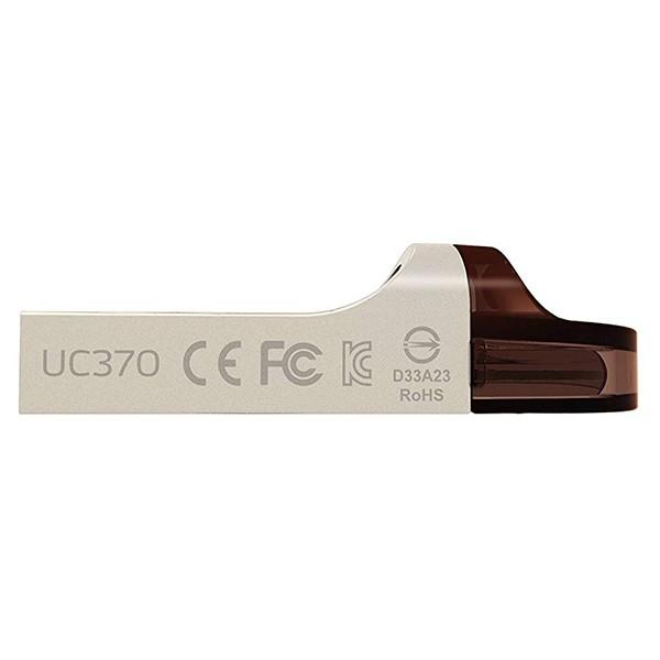 Pendrive 32GB Adata UC370 USB 3.1 OTG Plata