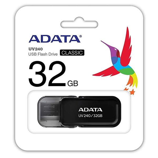 Pendrive 32GB Adata UV240 Negro