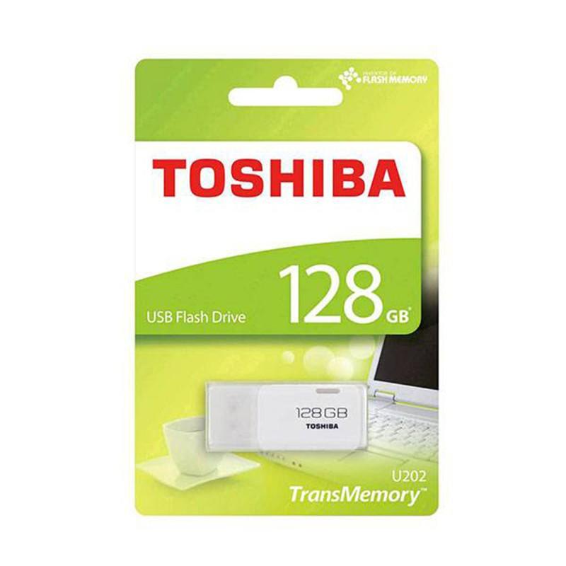 Pendrive 128GB Toshiba Hayabusa Blanco