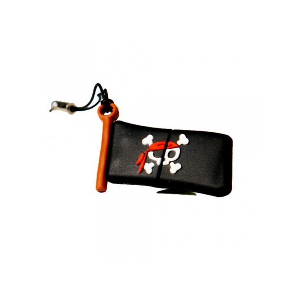 Pendrive 16GB tech1tech Bandera Pirata