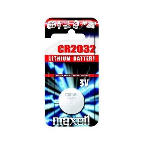 CR2032 3V Pila de Boton de Litio Maxell 1 uds