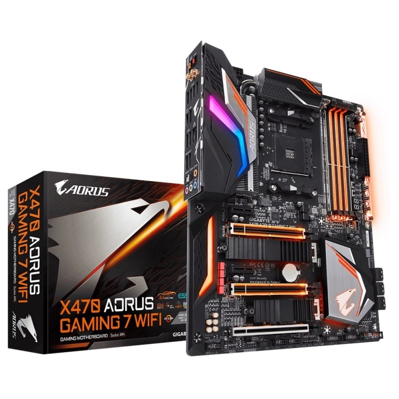 Placa Base Aorus X470 Gaming 7 WiFi ATX Socket AM4