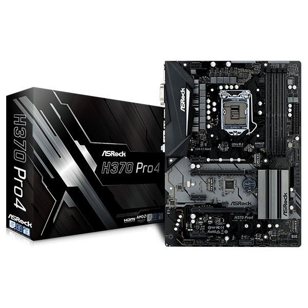 Placa Base ASRock H370 Pro4 ATX LGA1151(300)
