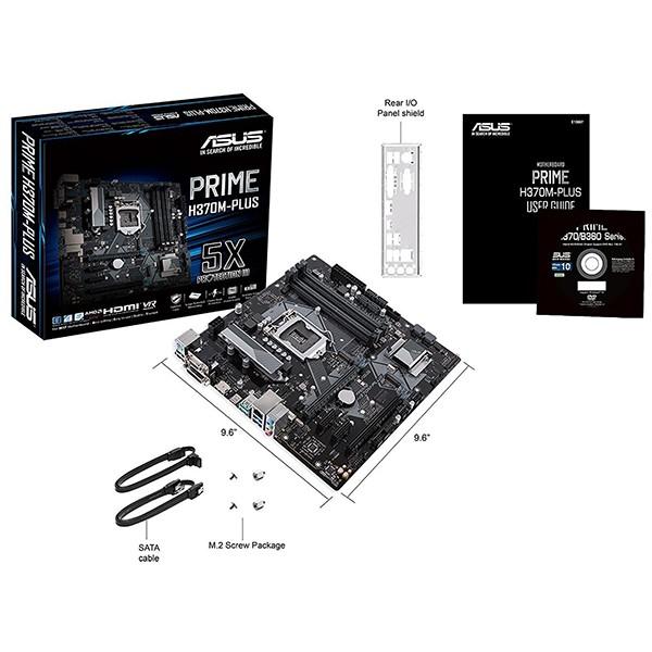 Placa Base Asus PRIME H370M-PLUS mATX LGA1151(300)
