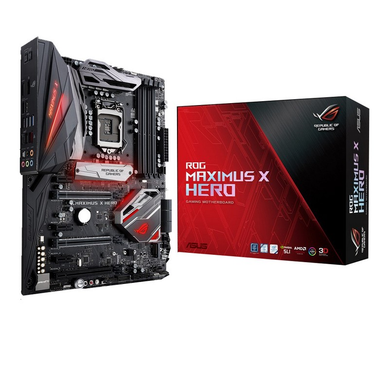 Placa Base Asus ROG Maximus X Hero Z370 ATX LGA1151(300)