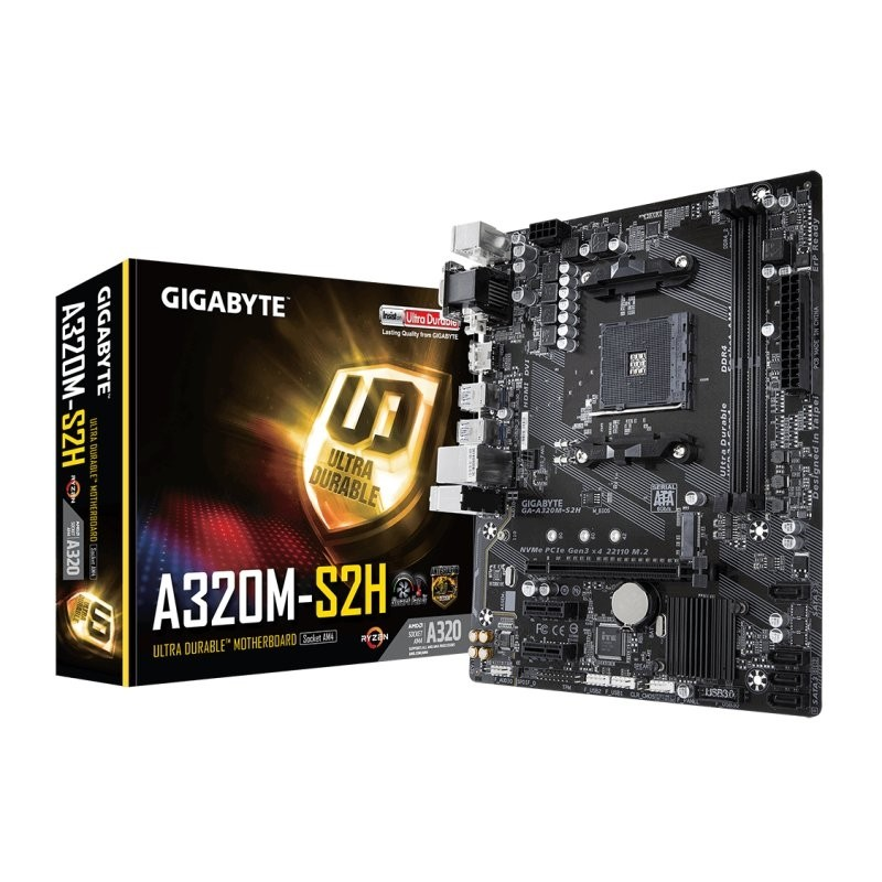 Placa Base Gigabyte A320M-S2H mATX Socket AM4