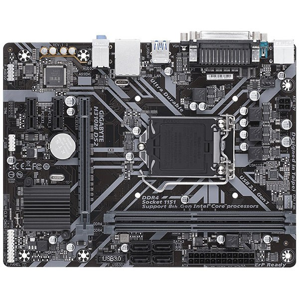 Placa Base Gigabyte H310M DS2 mATX LGA1151(300)