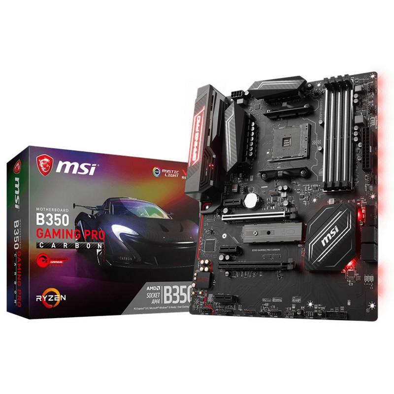 placa-base-msi-b350-gaming-pro-carbon-atx-socket-am4