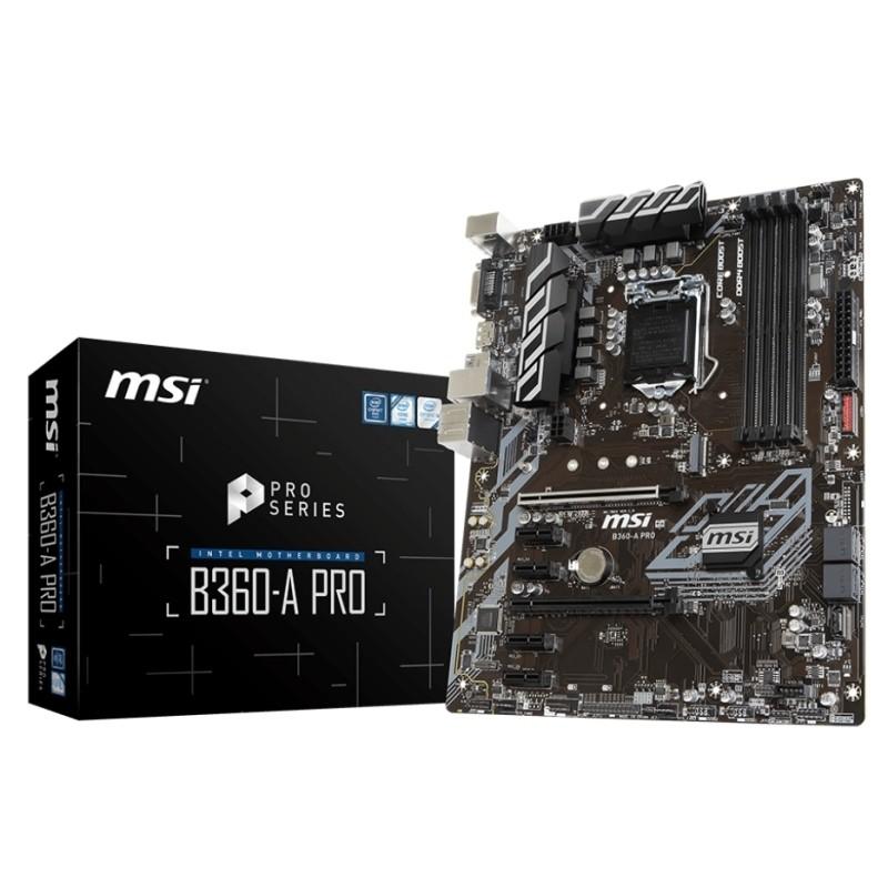 Placa Base MSI B360-A PRO ATX LGA1151(300)