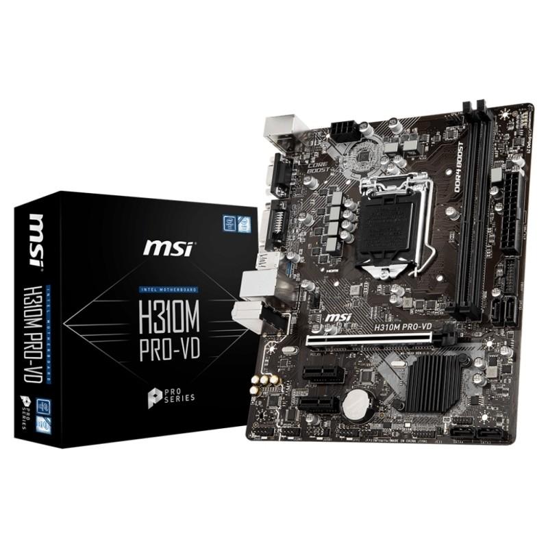 Placa Base MSI H310M PRO-VD mATX LGA1151(300)
