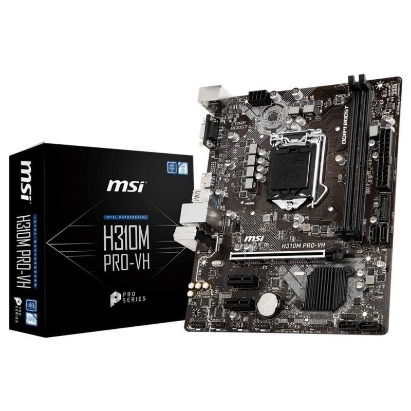 Placa Base MSI H310M PRO-VH mATX LGA1151(300)