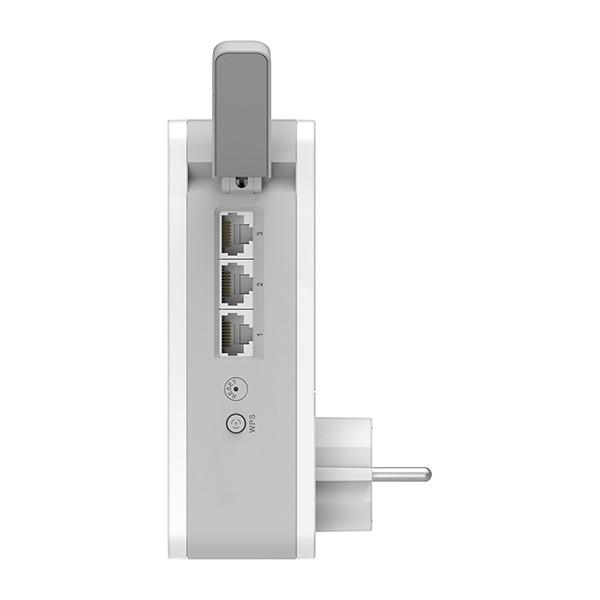 Sistema PLC WiFi Mesh Híbrido Inteligente D-Link COVR-P2502